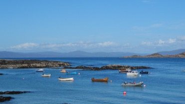 A3 - little boats Iona