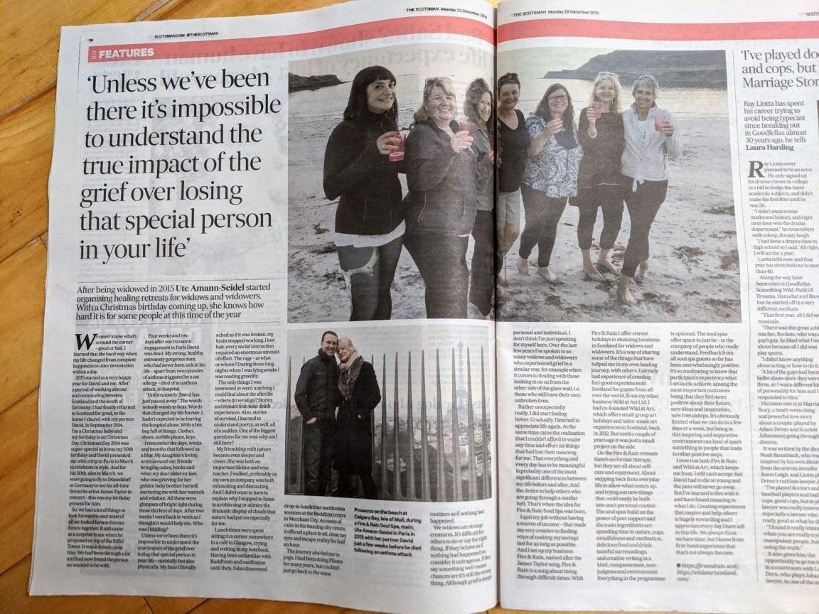 Scotsman article Dec 019