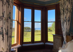 View from Torloisk House